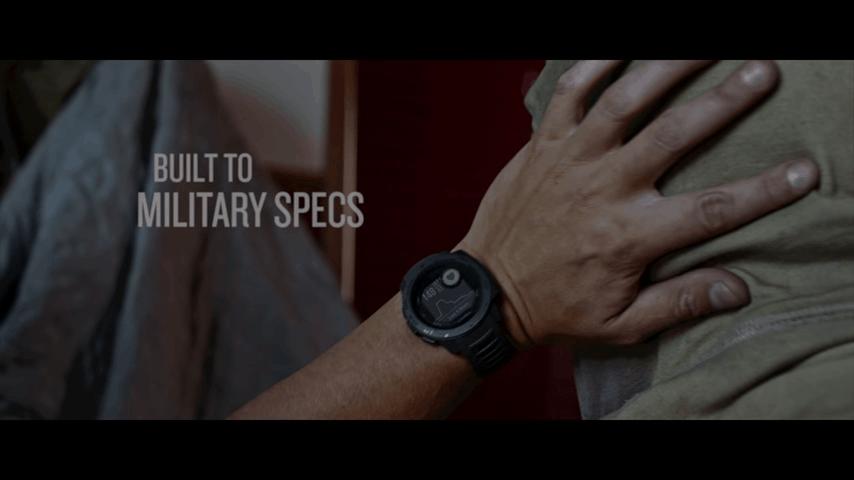 Garmin Instinct - best Military watch with GPS