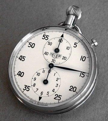 Tag Heuer Analog stopwatch