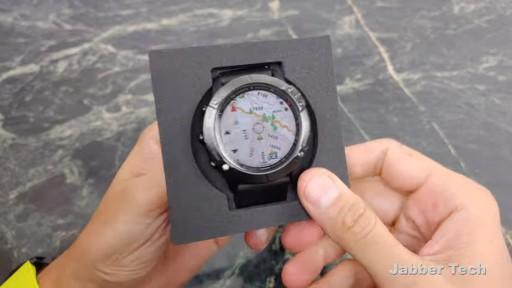 Garmin Watch display and battery
