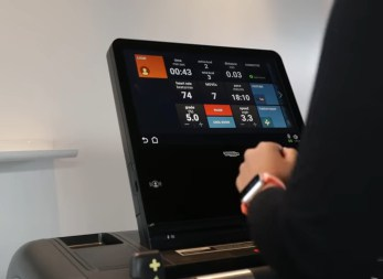 Apple Watch on Treadmill