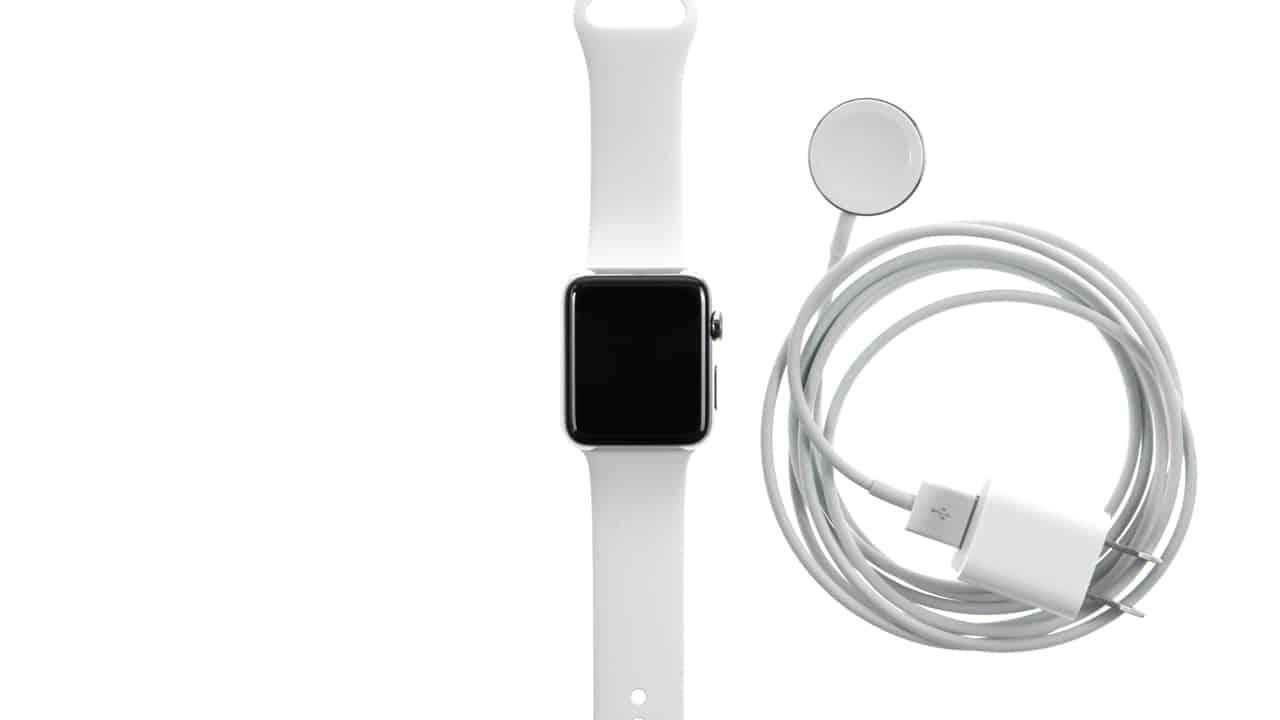 Charging Apple Watch