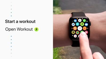 workout start
