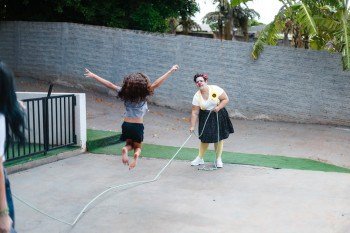 Jump Rope without Shoes