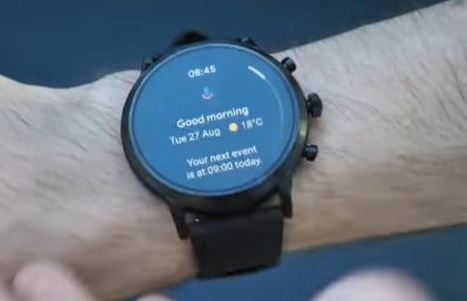 Fossil Gen 5 Smartwatch with text