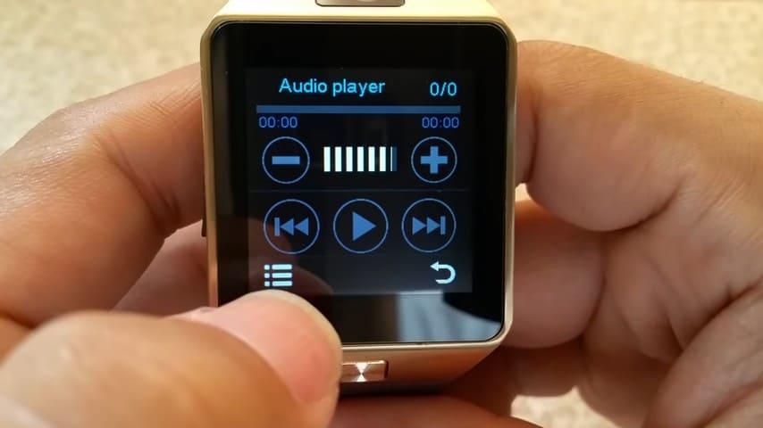 smartwatch music