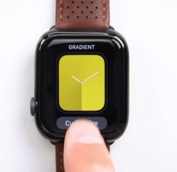 Apple Watch 6 face-Gradient