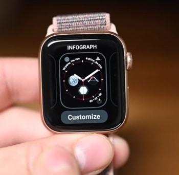 Apple Watch 6 face-Infograph