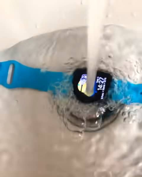 shower with my Apple Watch